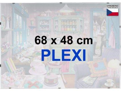 BFHM Rám na puzzle Euroclip 68x48cm (plexisklo)
