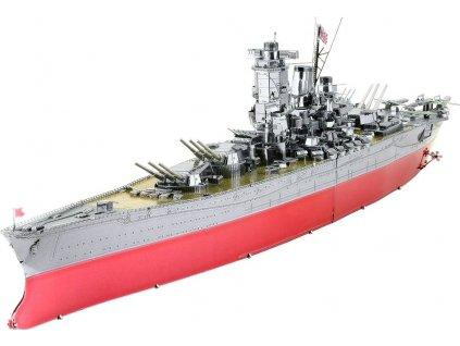 METAL EARTH 3D puzzle Válečná loď Yamato (ICONX)