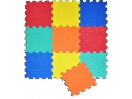 SUN TA TOYS Pěnové puzzle barevné S4 (30x30)