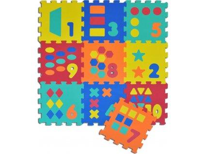 SUN TA TOYS Pěnové puzzle Počítání S4 (30x30)