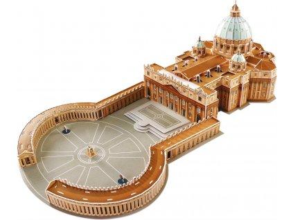 MAGIC PUZZLE 3D puzzle Bazilika svatého Petra 165 dílků