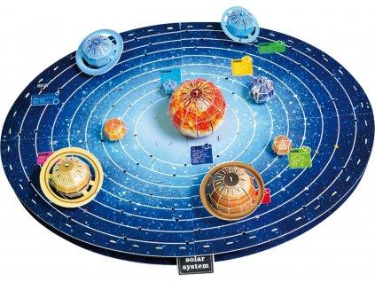MAGIC PUZZLE 3D puzzle Sluneční soustava 146 dílků