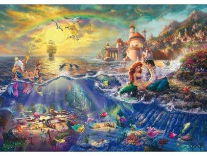 SCHMIDT Puzzle Malá mořská víla Ariel 1000 dílků