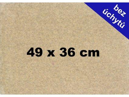 MDF deska na puzzle 49x36cm bez úchytů