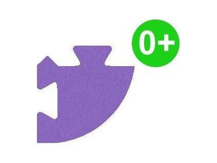 MALÝ GÉNIUS Rohový dílek silný 0+ (fialový)