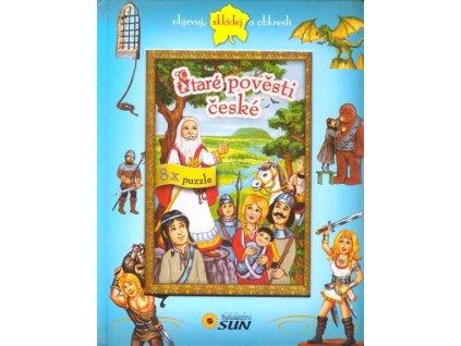 Nakladatelství SUN Kniha s puzzle: Staré pověsti české 8x25 dílků