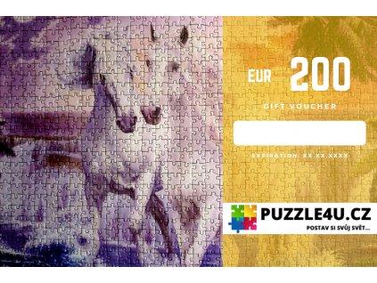 Darkovy poukaz 200 eur