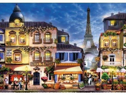 RAVENSBURGER Puzzle Krásná Paříž EXTRA 300 dílků