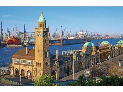 RAVENSBURGER Puzzle Hamburk, Německo 1000 dílků