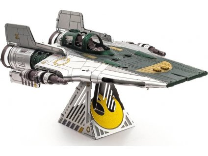 METAL EARTH 3D puzzle Star Wars: Resistance A-Wing Fighter