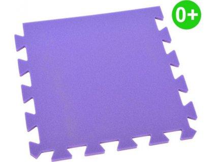 MALÝ GÉNIUS Okrajový díl OPTIMAL silný 0+ (fialový)