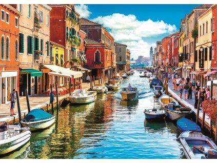 TREFL Puzzle Ostrov Murano, Benátky 2000 dílků