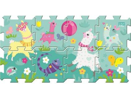 TREFL Pěnové puzzle Veselé lamy