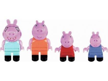 PlayBIG BLOXX Figurky Prasátko Peppa s rodinou