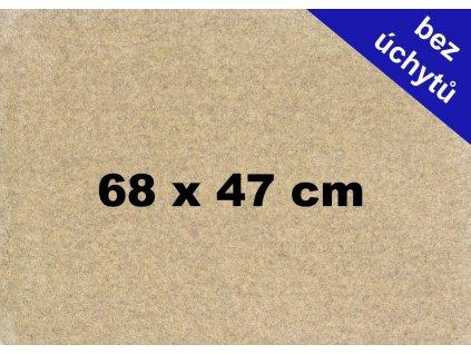 MDF deska na puzzle 68x47cm bez úchytů
