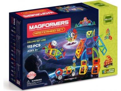 Magnetická stavebnice MAGFORMERS Mastermind 115 dílků