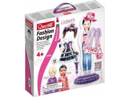 QUERCETTI Fashion Design oblékací panenka Lisbeth