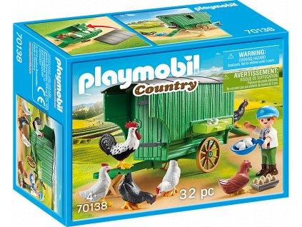 PLAYMOBIL® Country 70138 Pojízdný kurník