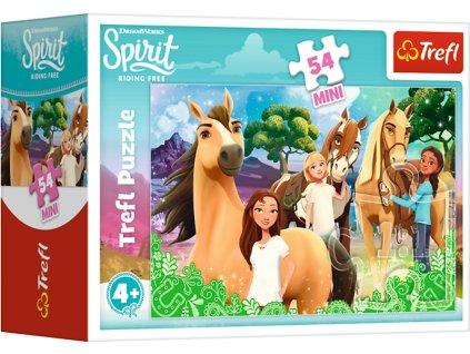 TREFL Puzzle Spirit: Volnost nadevše - Přátelství 54 dílků