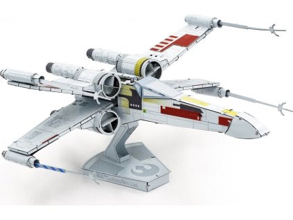 METAL EARTH 3D puzzle Star Wars: X-Wing Starfighter (ICONX)
