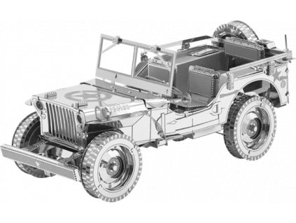 METAL EARTH 3D puzzle Jeep Willys MB Overland (ICONX)