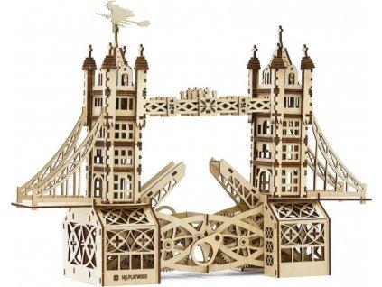 MR. PLAYWOOD 3D puzzle Tower Bridge 312 dílků