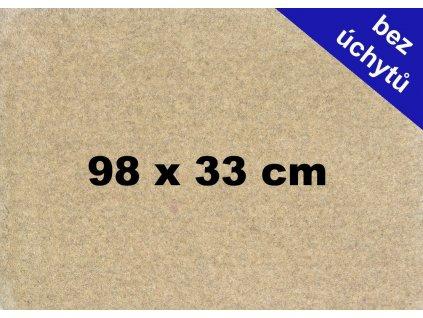 MDF deska na puzzle 98x33cm bez úchytů