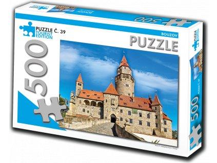 TOURIST EDITION Puzzle Bouzov 500 dílků (č.39)