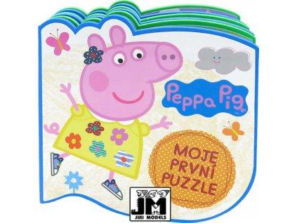 JIRI MODELS Pěnová puzzle knížka Prasátko Peppa