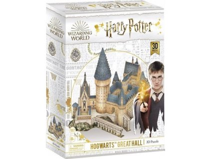 CUBICFUN 3D puzzle Harry Potter: Velká síň 185 dílků