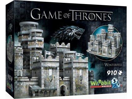 WREBBIT 3D puzzle Hra o trůny: Winterfell 910 dílků