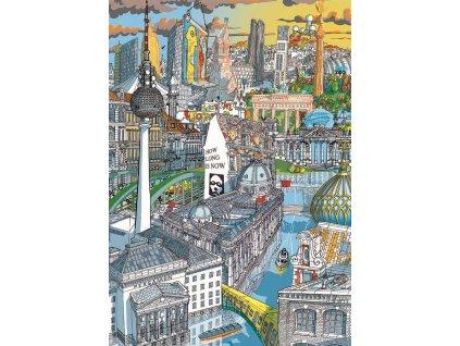EDUCA Puzzle City: Berlín 200 dílků