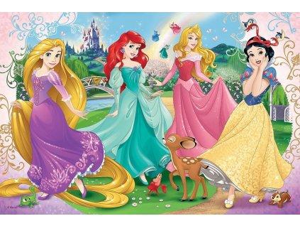 TREFL Puzzle Oblíbené princezny 60 dílků