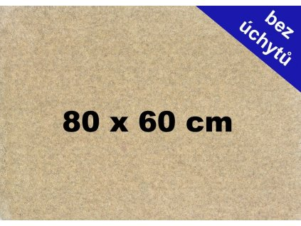 MDF deska na puzzle 80x60cm bez úchytů