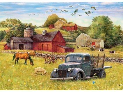 COBBLE HILL Puzzle Letní odpoledne na farmě 500 dílků