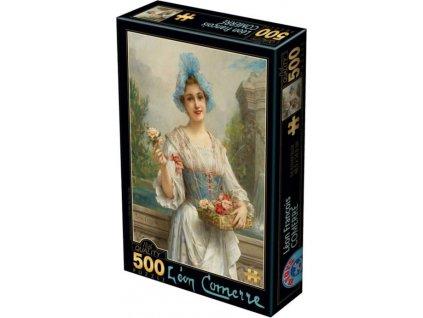 D-TOYS Puzzle Prodavačka květin 500 dílků