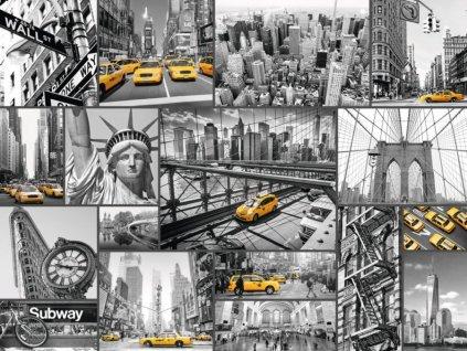 RAVENSBURGER Puzzle Taxi v New Yorku 1500 dílků