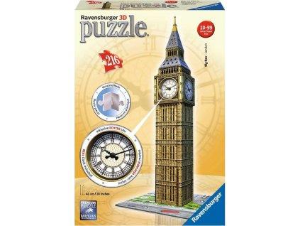 RAVENSBURGER 3D puzzle Big Ben s hodinami 216 dílků