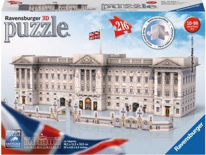 RAVENSBURGER 3D puzzle Buckinghamský palác, Londýn  216 dílků