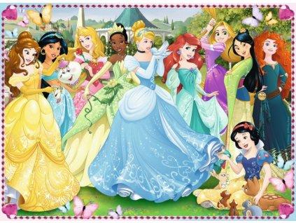RAVENSBURGER Puzzle Disney princezny: Okouzlující princezny XXL 100 dílků