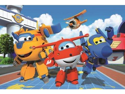 TREFL Puzzle Super Wings: Veselá letadla MAXI 24 dílků