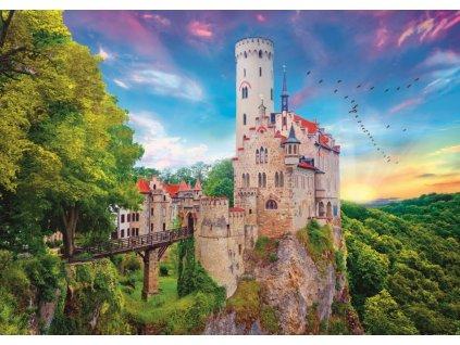 TREFL Puzzle Zámek Lichtenstein, Německo 1000 dílků