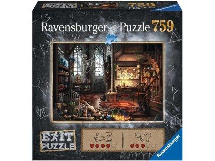 RAVENSBURGER Únikové EXIT puzzle Dračí laboratoř 759 dílků