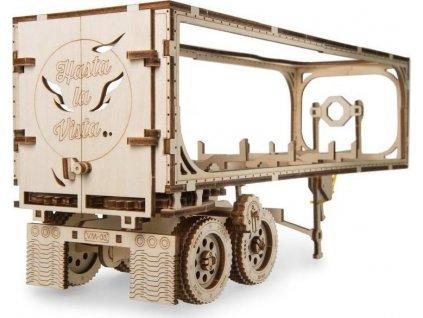 UGEARS 3D puzzle Přívěs pro Heavy Boy kamion VM-03 138 dílků
