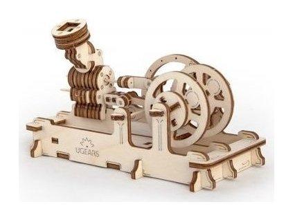 UGEARS 3D puzzle Motor 81 dílků