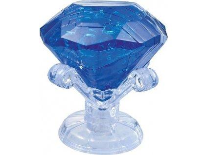 HCM KINZEL 3D Crystal puzzle Safír 43 dílků