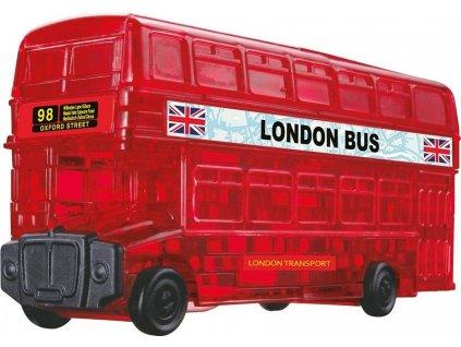HCM KINZEL poškozený obal: 3D Crystal puzzle Londýnský autobus 53 dílků