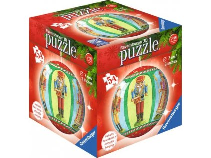 RAVENSBURGER Puzzleball Vánoční baňka figurky 54 dílků