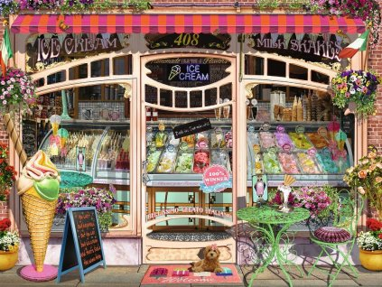 RAVENSBURGER Puzzle Cukrárna 1500 dílků
