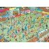JUMBO Puzzle Ženský fotbal 1000 dílků